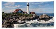 Portland Head Lighthouse Hand Towel