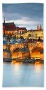 Prague Castle. Bath Towel