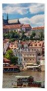 Prague Castle Bath Towel