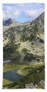 Prevalski And Valyavishki Lakes Pirin National Park Bulgaria  Bath Towel