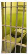 Prison Cell Alcatraz Island Bath Towel