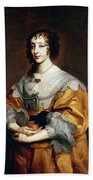 Queen Henrietta Maria Bath Towel