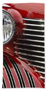 Red Cadillac Bath Towel