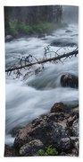 Redfish Creek In Stanley Idaho Bath Towel