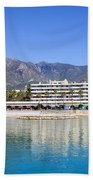 Resort City Of Marbella In Spain Bath Towel