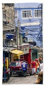 Rio De Janeiro  Brazil - Favela Bath Towel