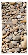 River Rocks Pebbles Bath Towel