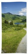 Road In The Mountains Bath Towel