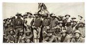 Roosevelt & Rough Riders Hand Towel