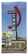 Route 66 - Grants Cafe Bath Towel