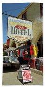 Route 66 - Oatman Arizona Bath Towel