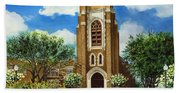 Saint Andrews Episcopal Church Bryan Texas Bath Towel