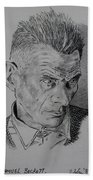 Samuel Beckett Bath Towel