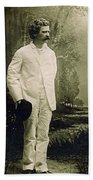 Samuel Langhorne Clemens (1835-1910) Hand Towel