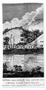 Saratoga: Encampment, 1777 Bath Towel