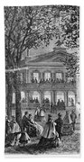 Saratoga Springs, 1865 Hand Towel