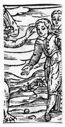 Satan & Sorcerer, 1626 Bath Towel