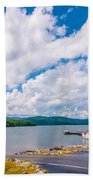 Scenery Around Lake Jocasse Gorge Bath Towel