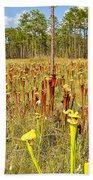 Schnell's Pitcher Plant Bath Towel