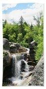 Screw Auger Falls At Grafton Notch State Park  Bath Towel