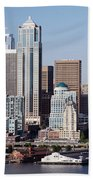 Seattle Skyline Bath Towel