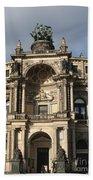 Semper Opera Dresden Germany Bath Towel
