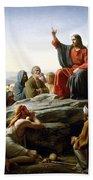 Sermon On The Mount Bath Towel