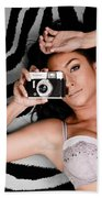 Sexy Photographer Bath Towel