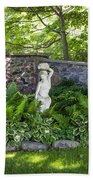 Shady Perennial Garden Bath Towel