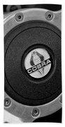 Shelby Cobra Steering Wheel Bath Towel