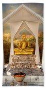 Sitting Buddha Bath Towel