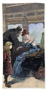 Smallpox Vaccination, 1885 Bath Towel