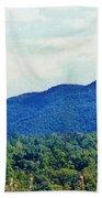 Smoky Mountains Bath Towel