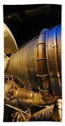 Space Rocket Thrust Engine Bath Towel