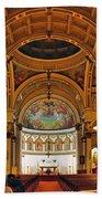 St. Leonard's Church....boston Bath Towel