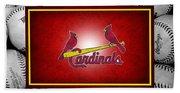 St Louis Cardinals Bath Towel