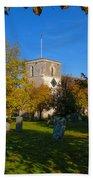 St Marys Church Kintbury Bath Towel