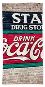 Star Drug Store Wall Sign Bath Towel