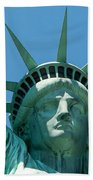 Statue Of Liberty Bath Towel