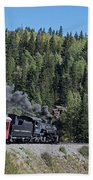 Steam Engine 488 At Osier On The Cumbres And Toltec Scenic Railroad Bath Towel