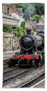 Steam Train Bath Towel