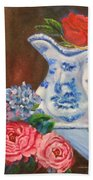 Rose And Pitcher Jenny Lee Discount Bath Towel