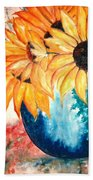 Sun Flower Bath Towel