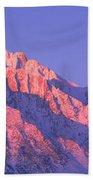 Sunrise At 14,494 Feet, Mount Whitney Bath Towel