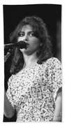 Susanna Hoffs Bath Towel