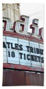 Terre Haute - Indiana Theater Bath Towel
