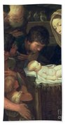 The Adoration Of The Shepherds Hand Towel