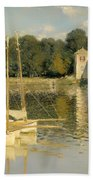 The Argenteuil Bridge Bath Towel
