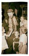 The Famous Clown Emmett Kelly 1956 Bath Towel