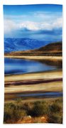 The Great Salt Lake Bath Towel